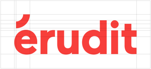 Clearspace around Érudit's logo